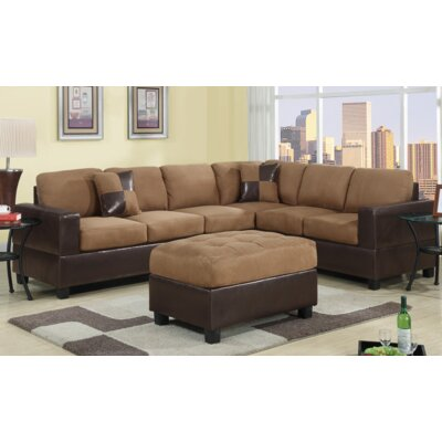 Ada Sectional Upholstery: Saddle