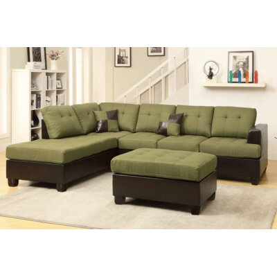 A&J Homes Studio F7WF6A0J4PDT Michael Sectional Finish