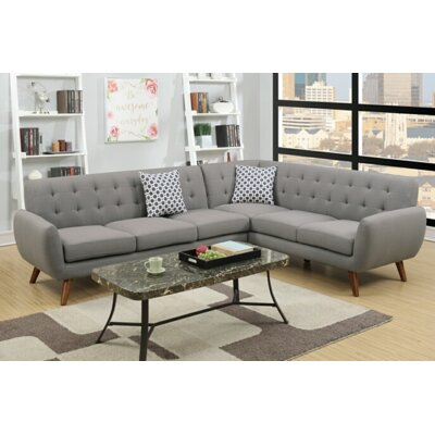 Min Sectional Upholstery: Gray