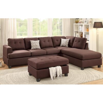 Sona Reversible Chaise Sectional