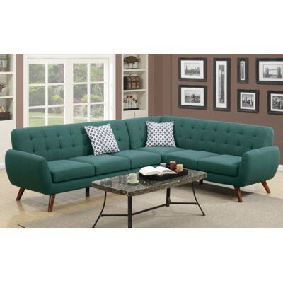 A&J Homes Studio F6WF9A6J3LGA Min Sectional Upholstery