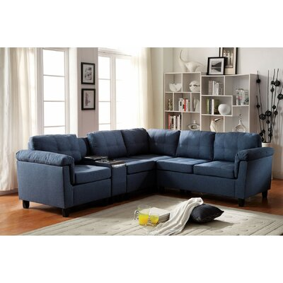 A&J Homes Studio 51WF5A2J5BL Kade Modular Sectional
