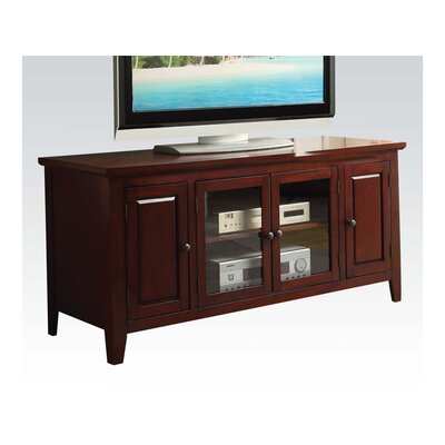 Hanna 55 TV Stand Color: Cherry