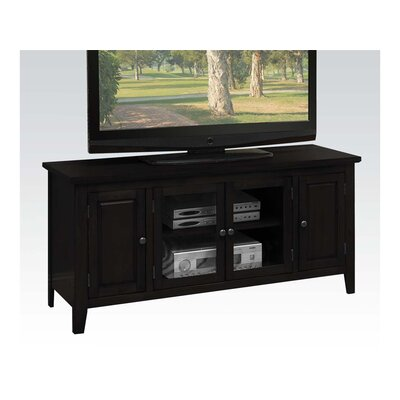 Hanna 55 TV Stand Color: Black