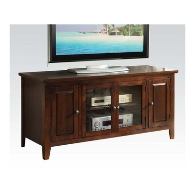 Hanna 55 TV Stand Color: Chocolate