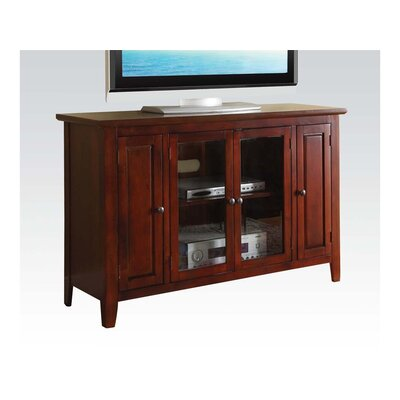 Mike TV Stand Finish: Cherry