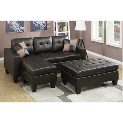A&J Homes Studio F6WF9A2J7ESP Akali Sleeper Sectional