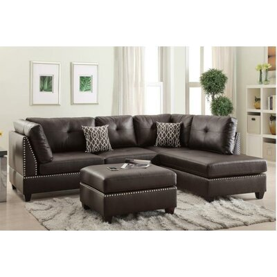 A&J Homes Studio F6WF9A7J3ESP Mario Reversible Sectional