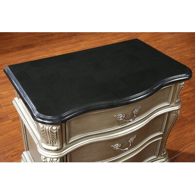 Rubio 3 Drawer Nightstand
