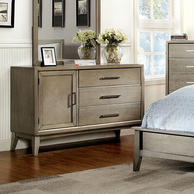 Needham 3 Drawer Combo Dresser