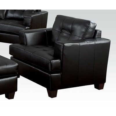 Fremont Armchair Upholstery Color: Black