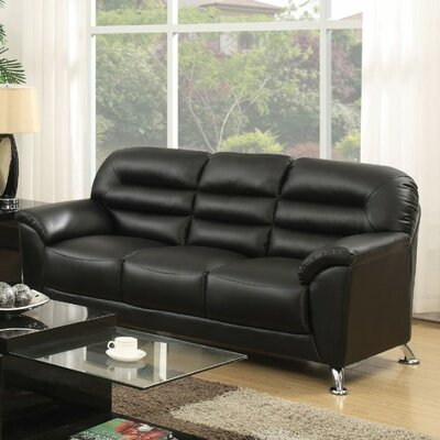 Tammy Sofa Upholstery Color: Black