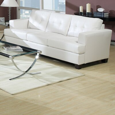Fremont Sofa Upholstery Color: White
