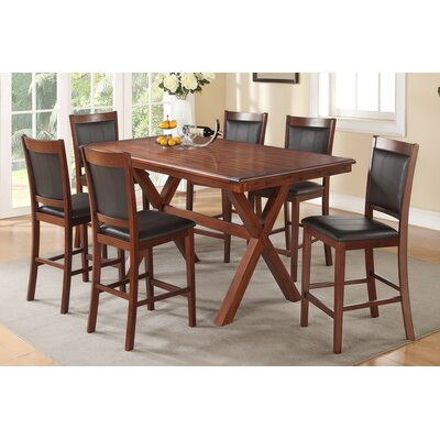 Shaman 7 Piece Counter Height Dining Set