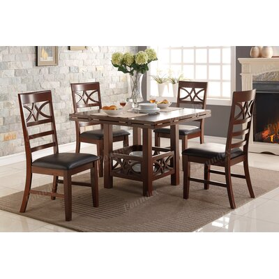 Wesly 5 Piece Dining Set