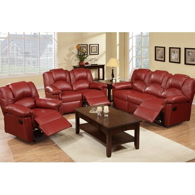 A&J Homes Studio F6W6A7J789SET Andy Motion 3 Piece Living Room Set Upholstery