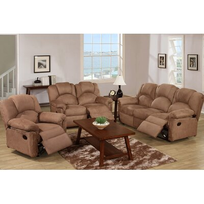 Johnson Motion 3 Piece Living Room Set