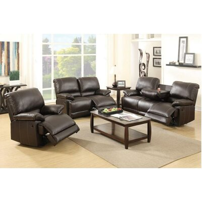 Sandy Motion 3 Piece Living Room Set