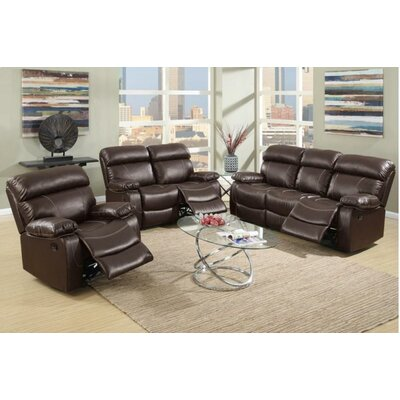 Mildred 3 Piece Living Room Set