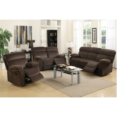 F6W7A8J456SET A&J Homes Studio Dark Brown Living Room Sets