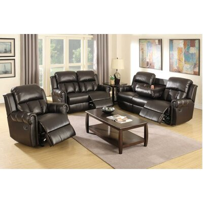 Nancy Motion 3 Piece Living Room Set