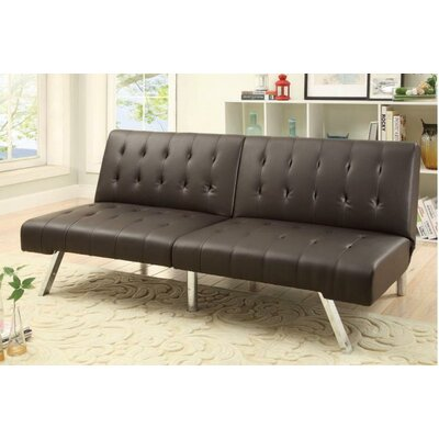 Sophia Adjustable Sleeper Loveseat Upholstery: Espresso