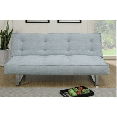 Edison Adjustable Sleeper Sofa Upholstery: Gray