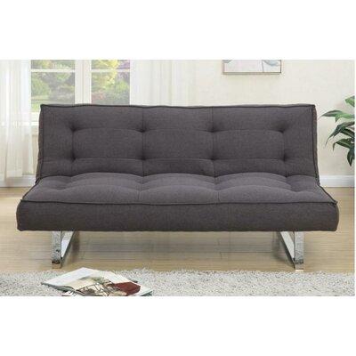 Edison Adjustable Sleeper Sofa Upholstery: Dark Chocolate