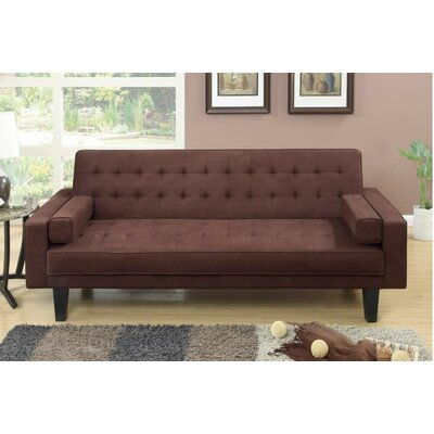 Majesity Adjustable Sleeper Loveseat Upholstery: Chocolate