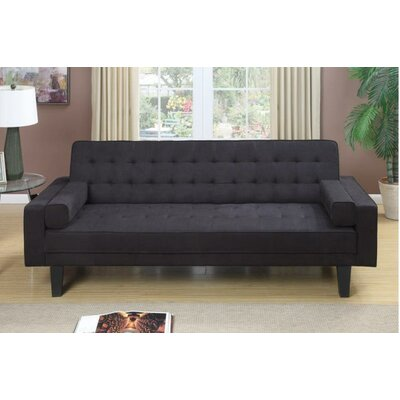 Majesity Adjustable Sleeper Loveseat Upholstery: Ebony