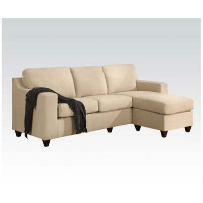 Sectional Upholstery: Beige