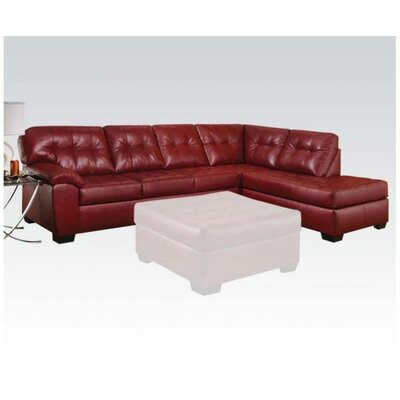 A&J Homes Studio 53WF6A1J5RD Sectional Upholstery