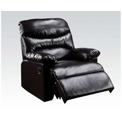 Fenway Manual Recliner Upholstery: Espresso