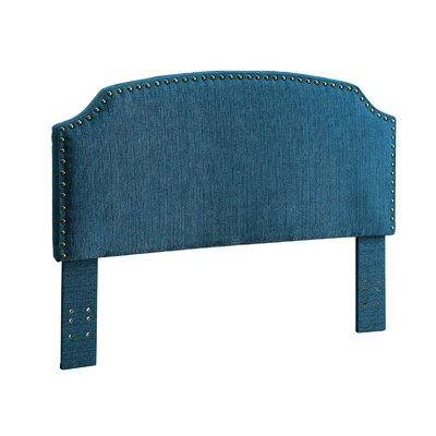 Ally Queen Upholstered Panel Headboard Upholstery: Teal