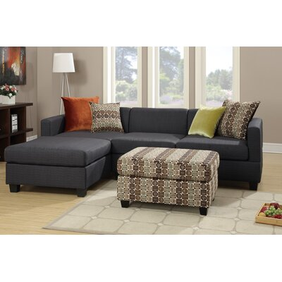Shaco Reversible Chaise Sectional