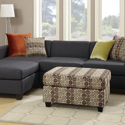 A&J Homes Studio F7WF1A7J0BLK Shaco Sectional