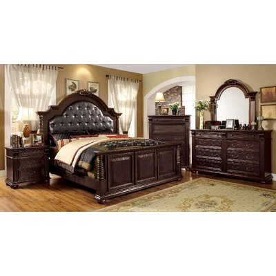 Ellis Upholstered Platform Configurable Bedroom Set