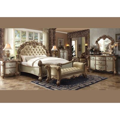 Mccarroll Panel Configurable Bedroom Set