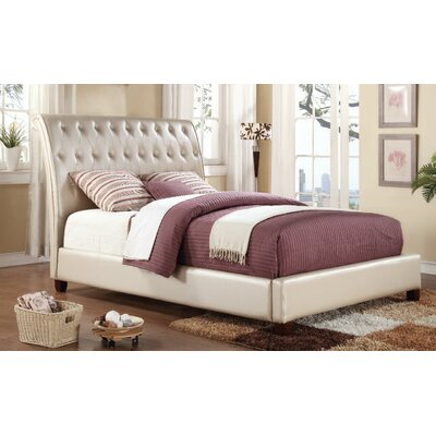 Piggy Sleigh Bed Size: Queen