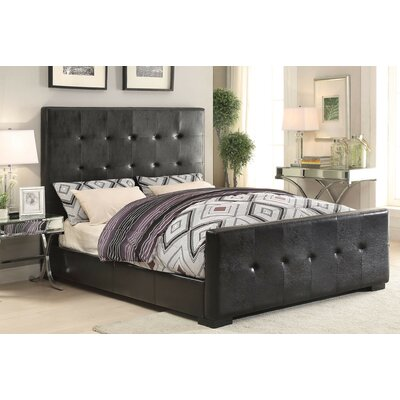 Wens Panel Bed Size: King