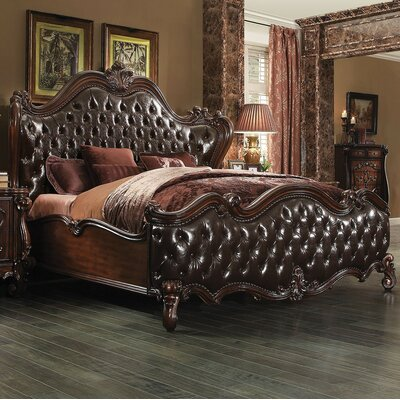Shine Sleigh Bed Size: King