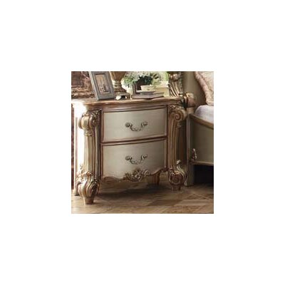 Mccarroll 2 Drawer Nightstand