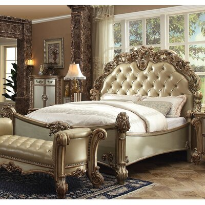 Mccarroll Panel Bed Size: King