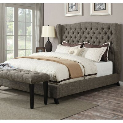 Sunny Platform Bed Size: Queen, Headboard Color: Chocolate