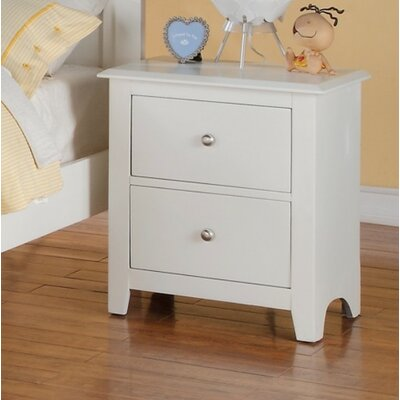 KC 2 Drawer Nightstand