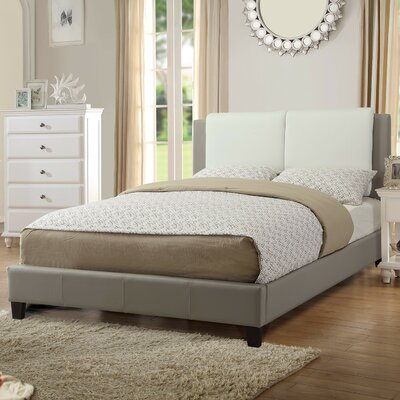 Trisa Queen Upholstered Platform Bed