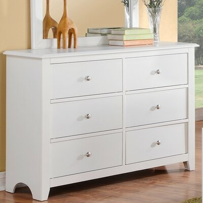 KC 6 Drawer Dresser