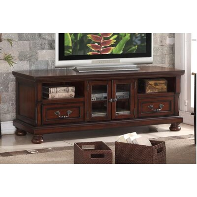 Naveda 63 TV Stand Color: Cherry