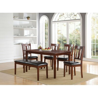 Eddie 6 Piece Dining Set