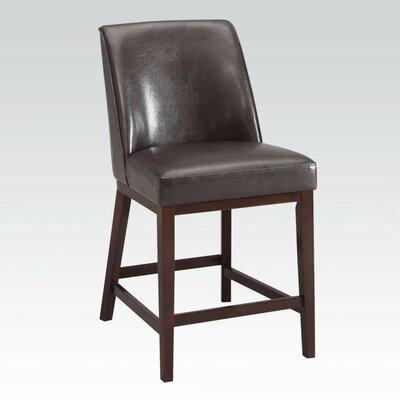 Amanda 29 Bar Stool Upholstery: Espresso